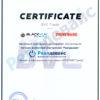 blackvue-sertificate